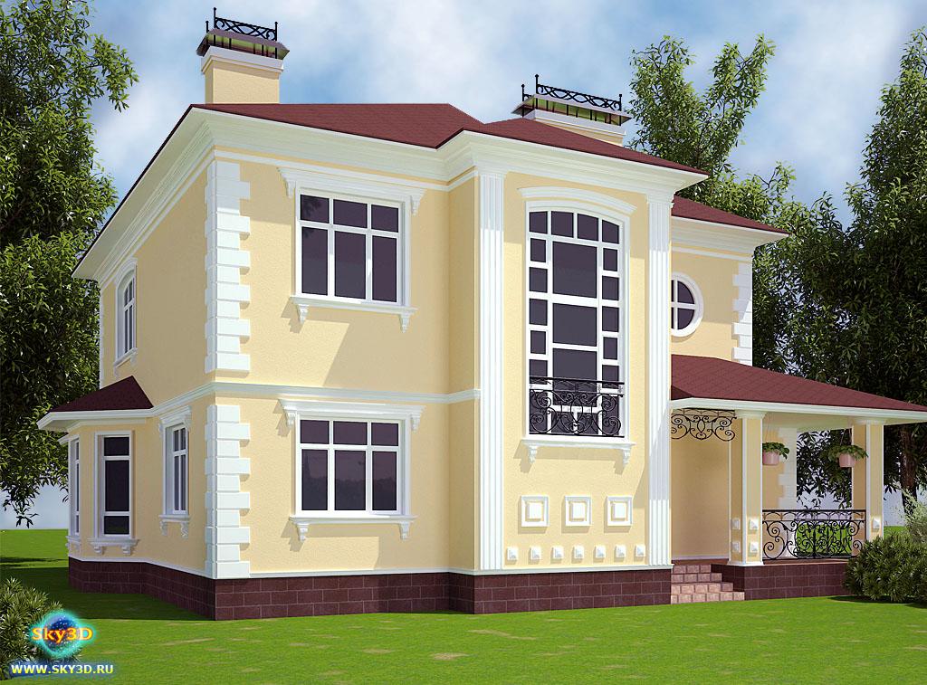 фасады и дизайн домов фото