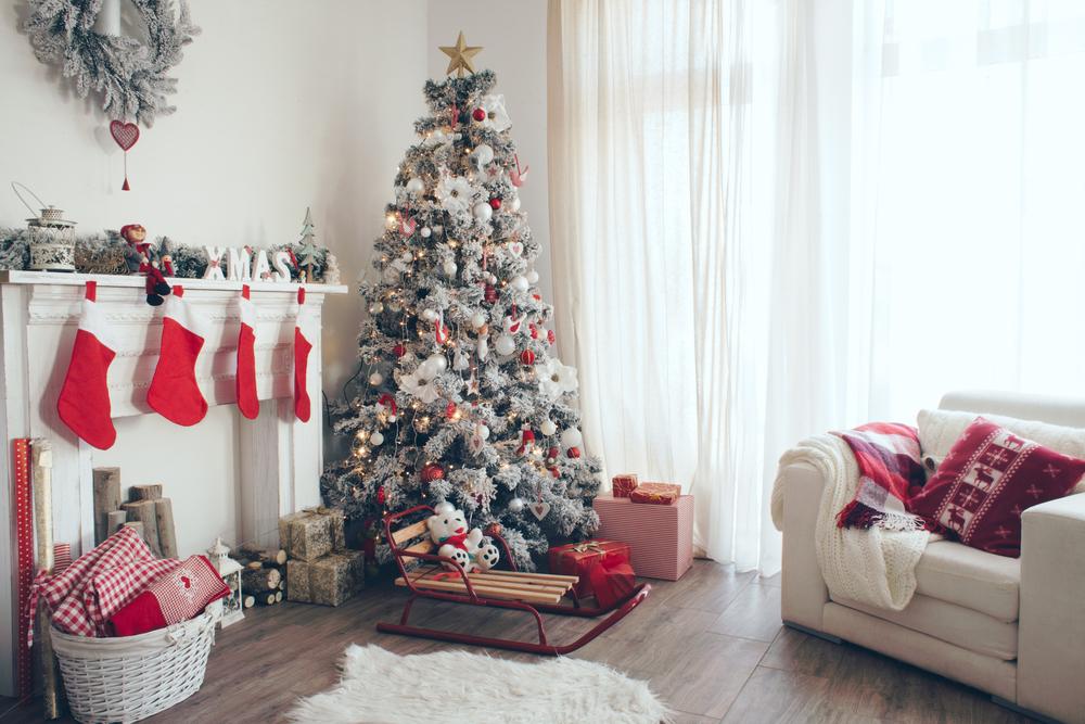 Как украсить дом на новый год видео