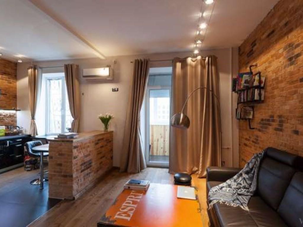 Лофт в маленькой квартире