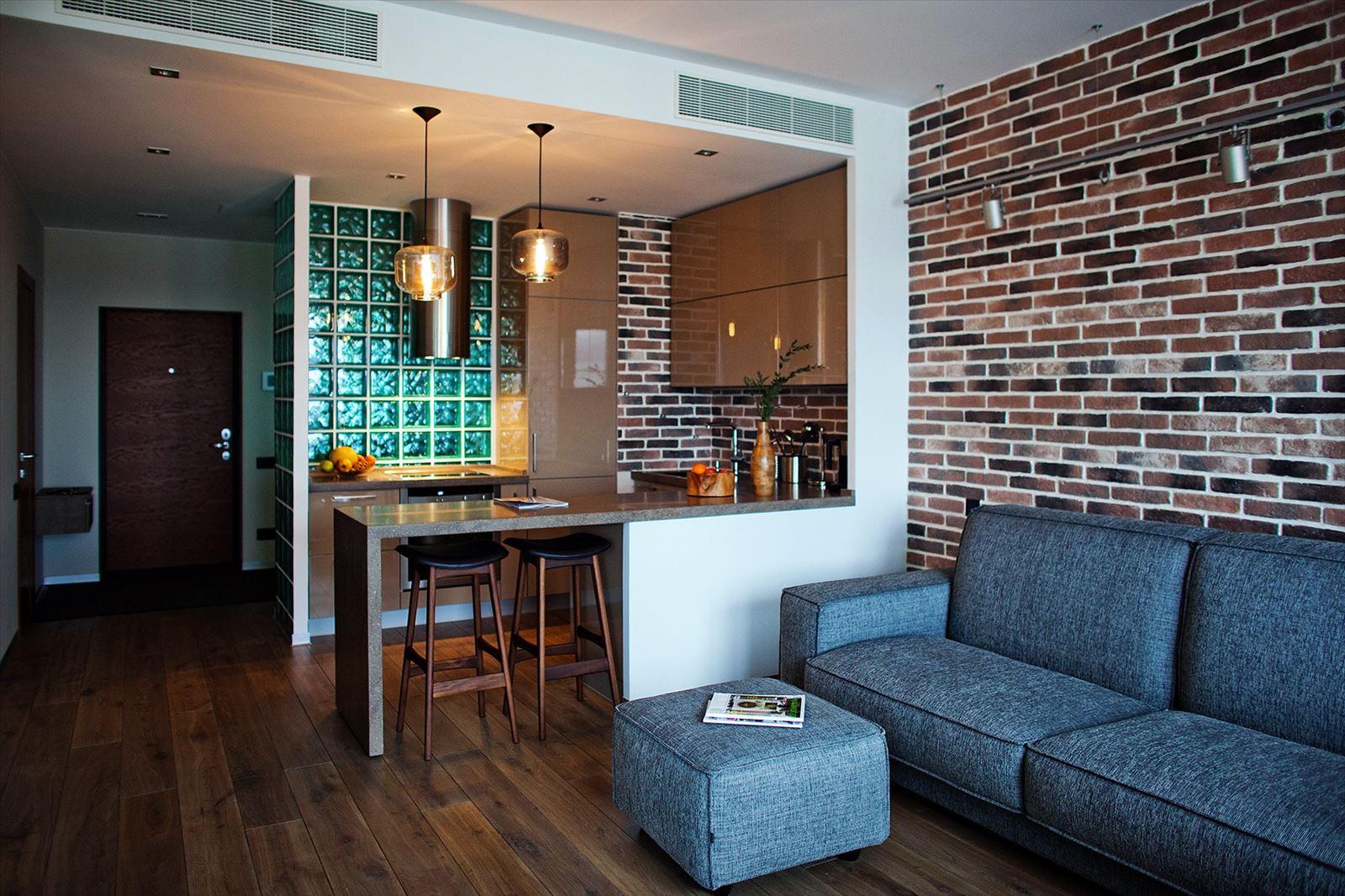 узнаете дизайн лофт однокомнатной квартиры ДОГОВОР возмездного