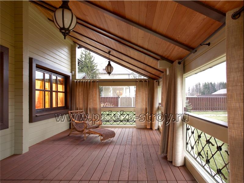 Интерьер деревянного дома из бруса внутри фото стилевые