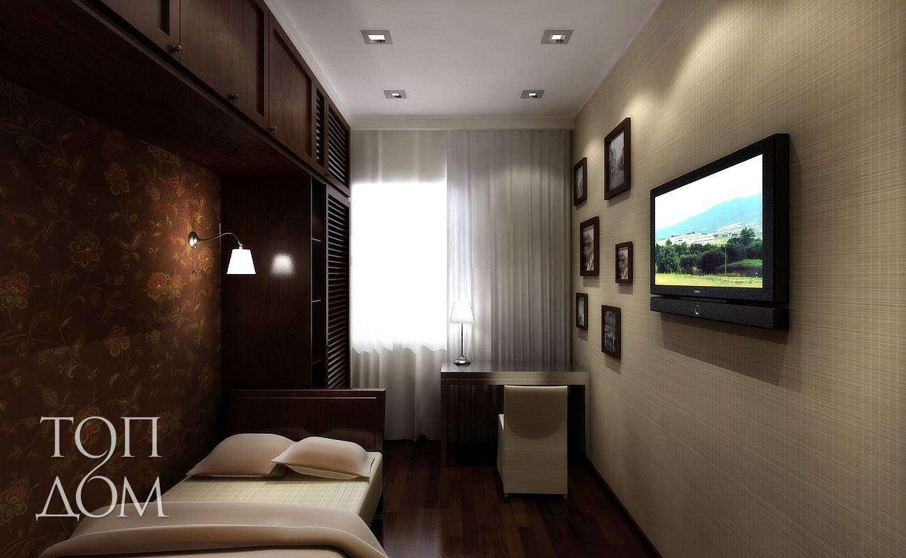 комнаты на фото 3 окном 4 интерьер с