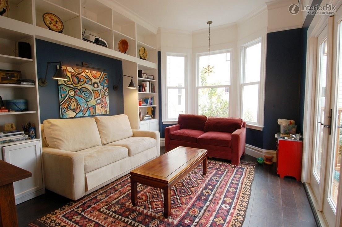 Идеи дизайна маленькой гостиной