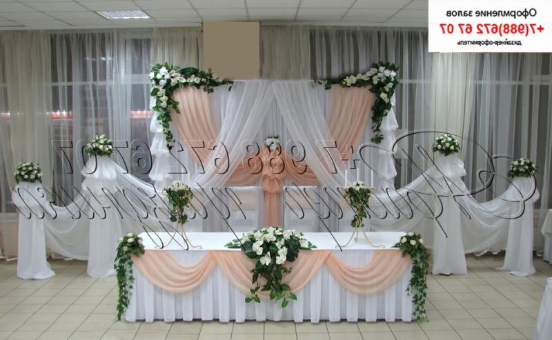 Как украсить стол невесты и жениха
