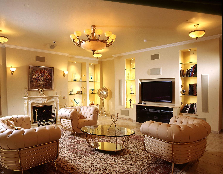 Фото гостиной комнаты своими руками
