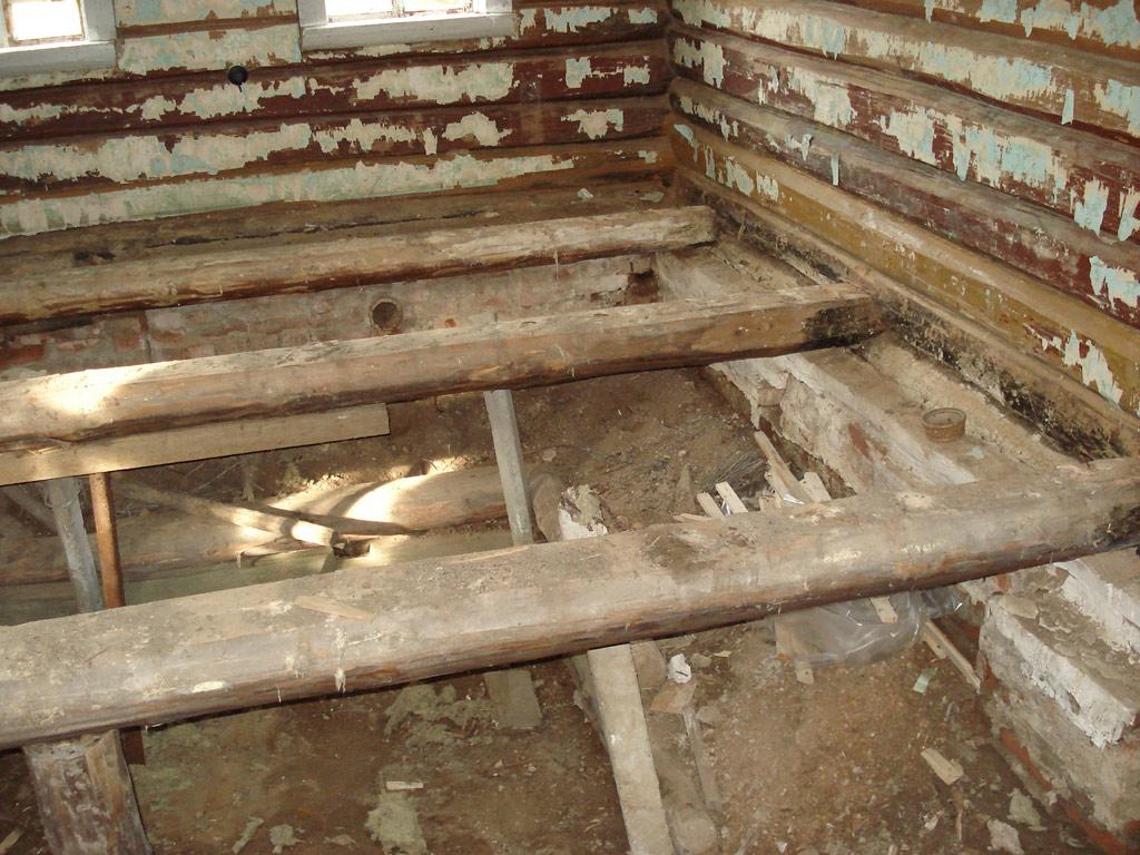 Поднимаем деревянный дом 183