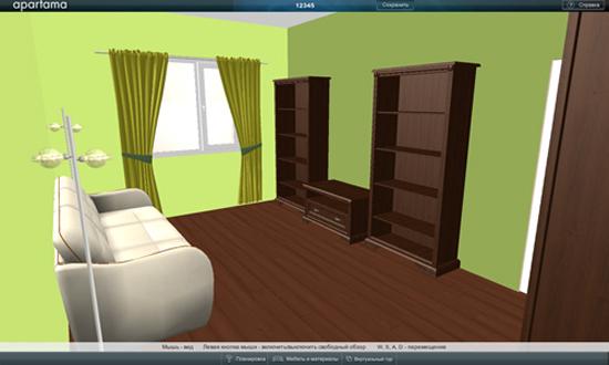 Онлайн дизайн помещения бесплатно