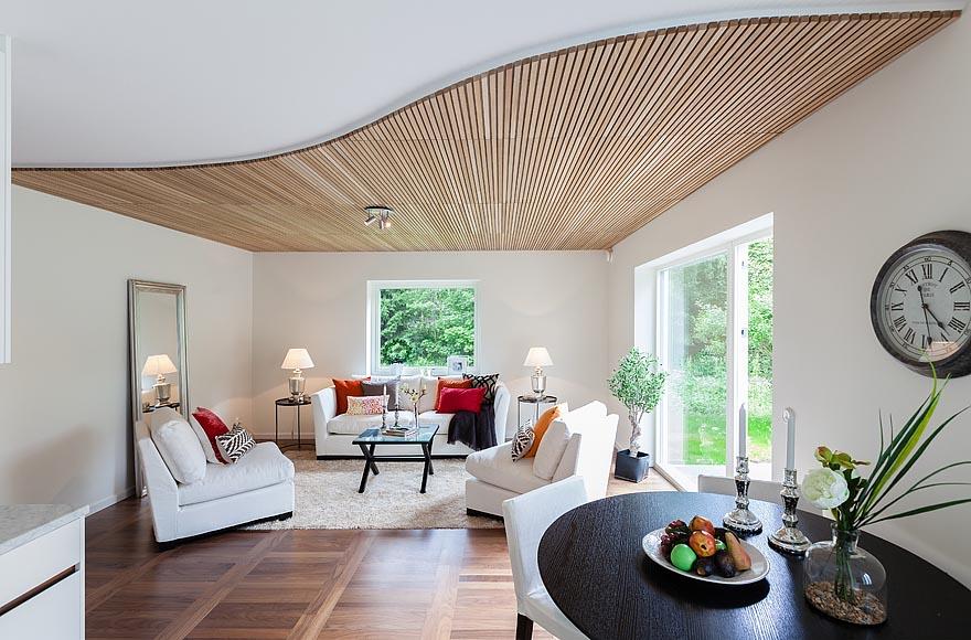 Дизайн низкого потолка для