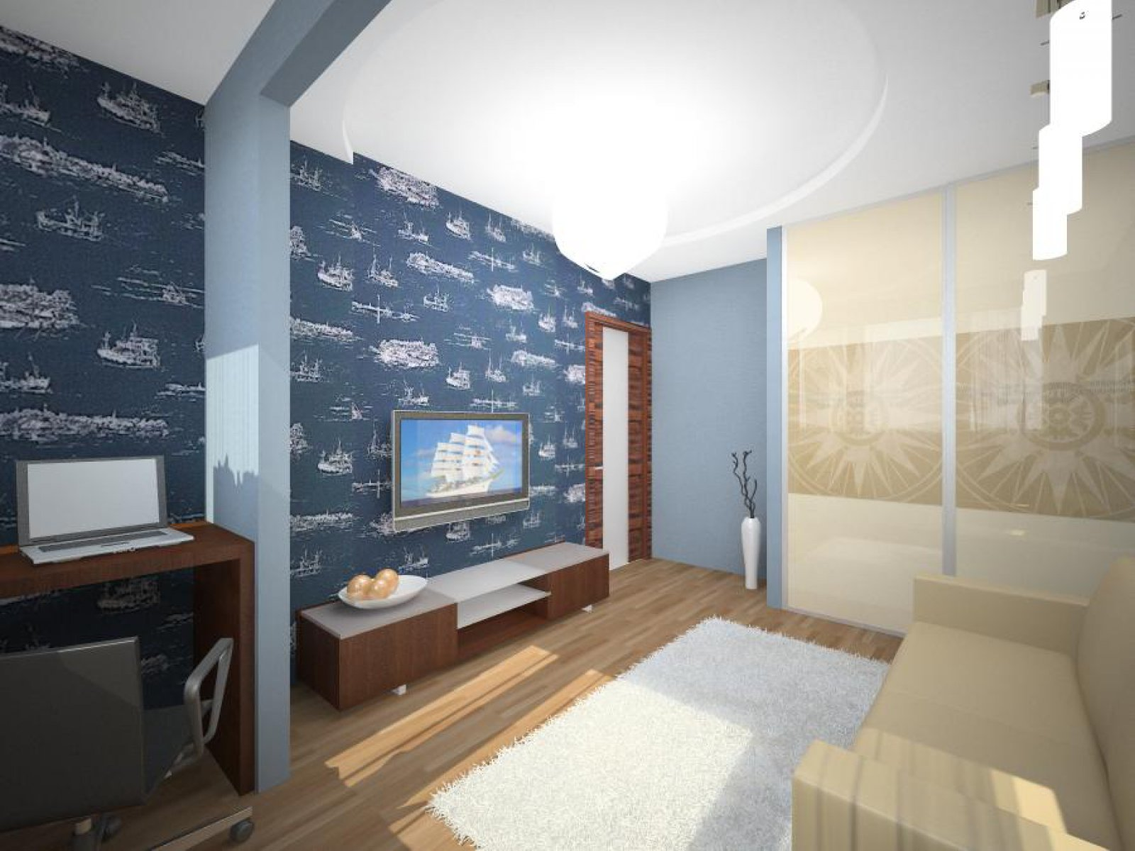 Дизайн квартиры в панельном доме трехкомнатная