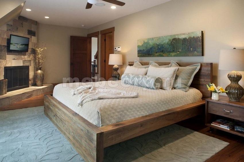 Дизайн спальни с кроватью своими руками
