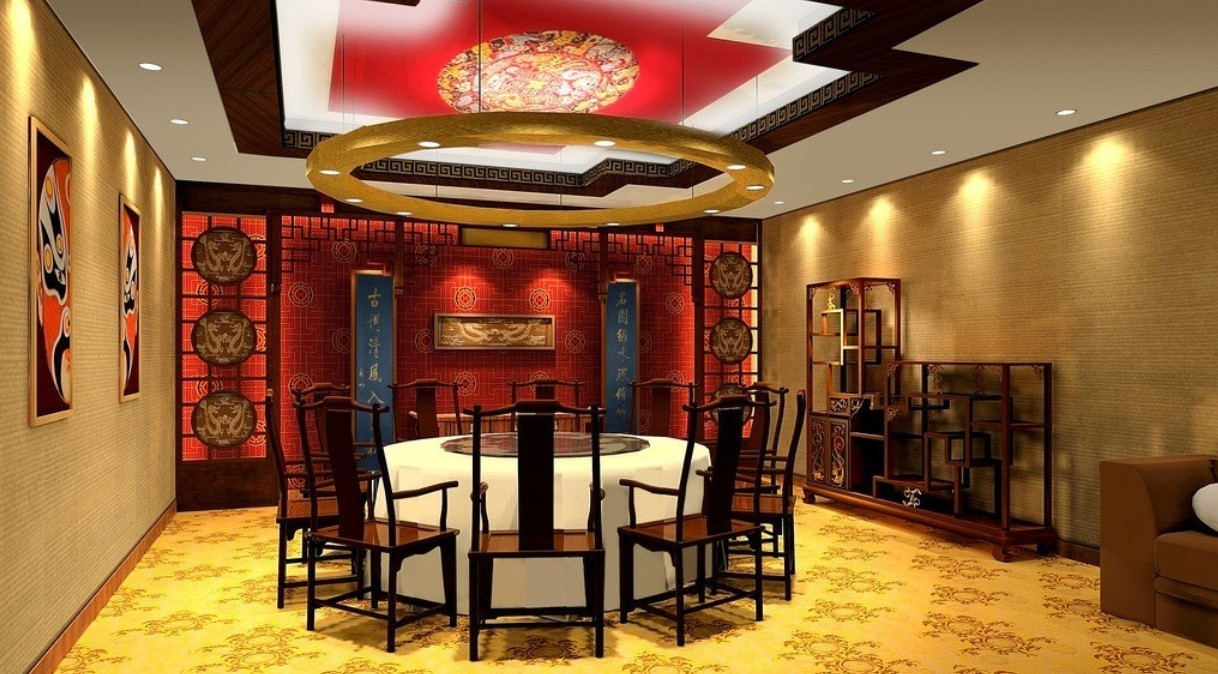 Дизайны китайских ресторанов