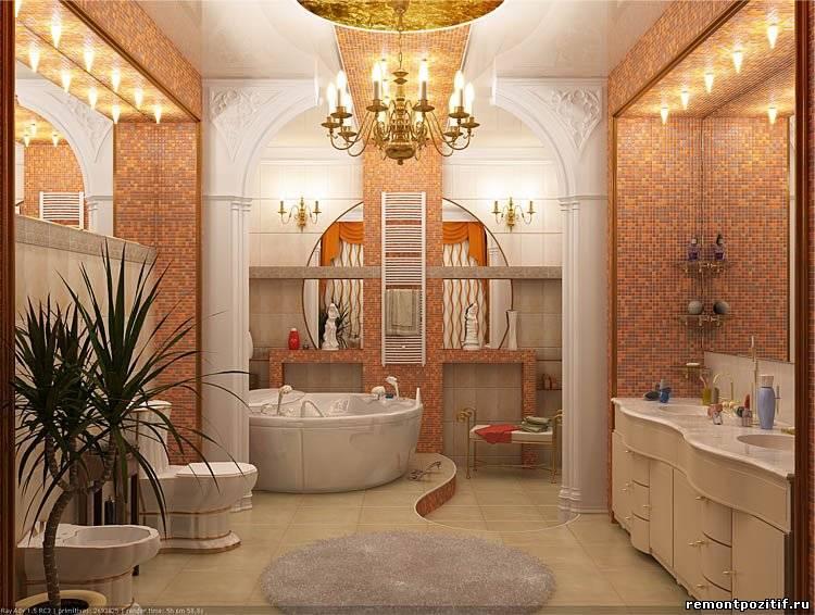 Ванные комнаты дизайн элитные