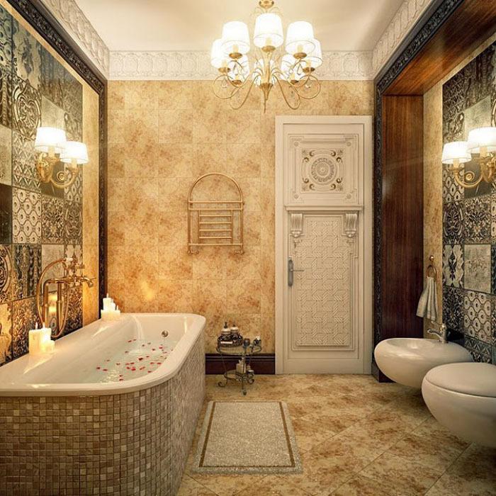 Красивые ванны фото интерьеров