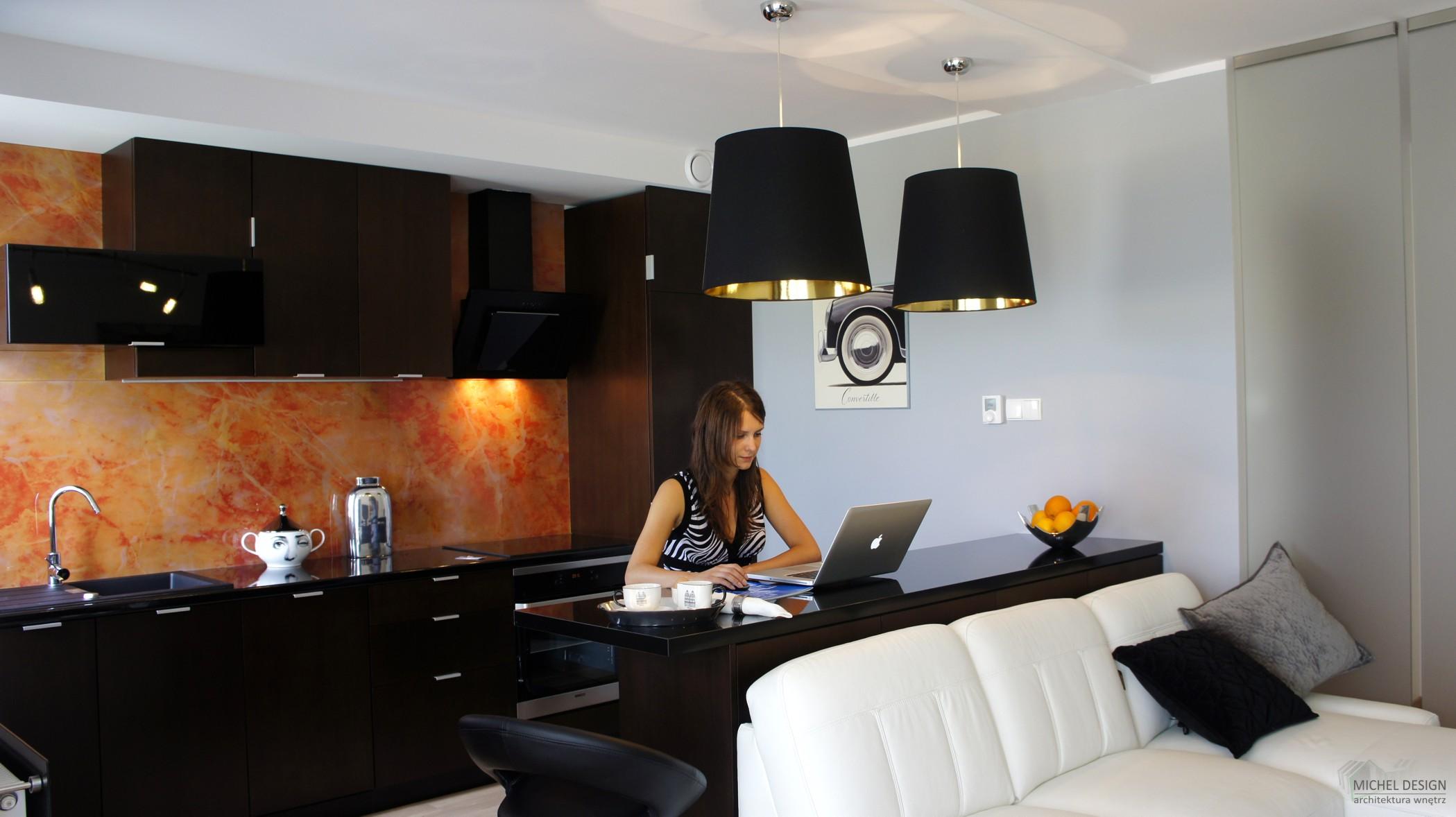 Фото и дизайн кухни студии в маленькой квартире