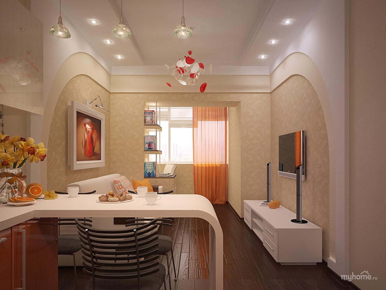 Дизайн 2 комнатной малогабаритной квартиры
