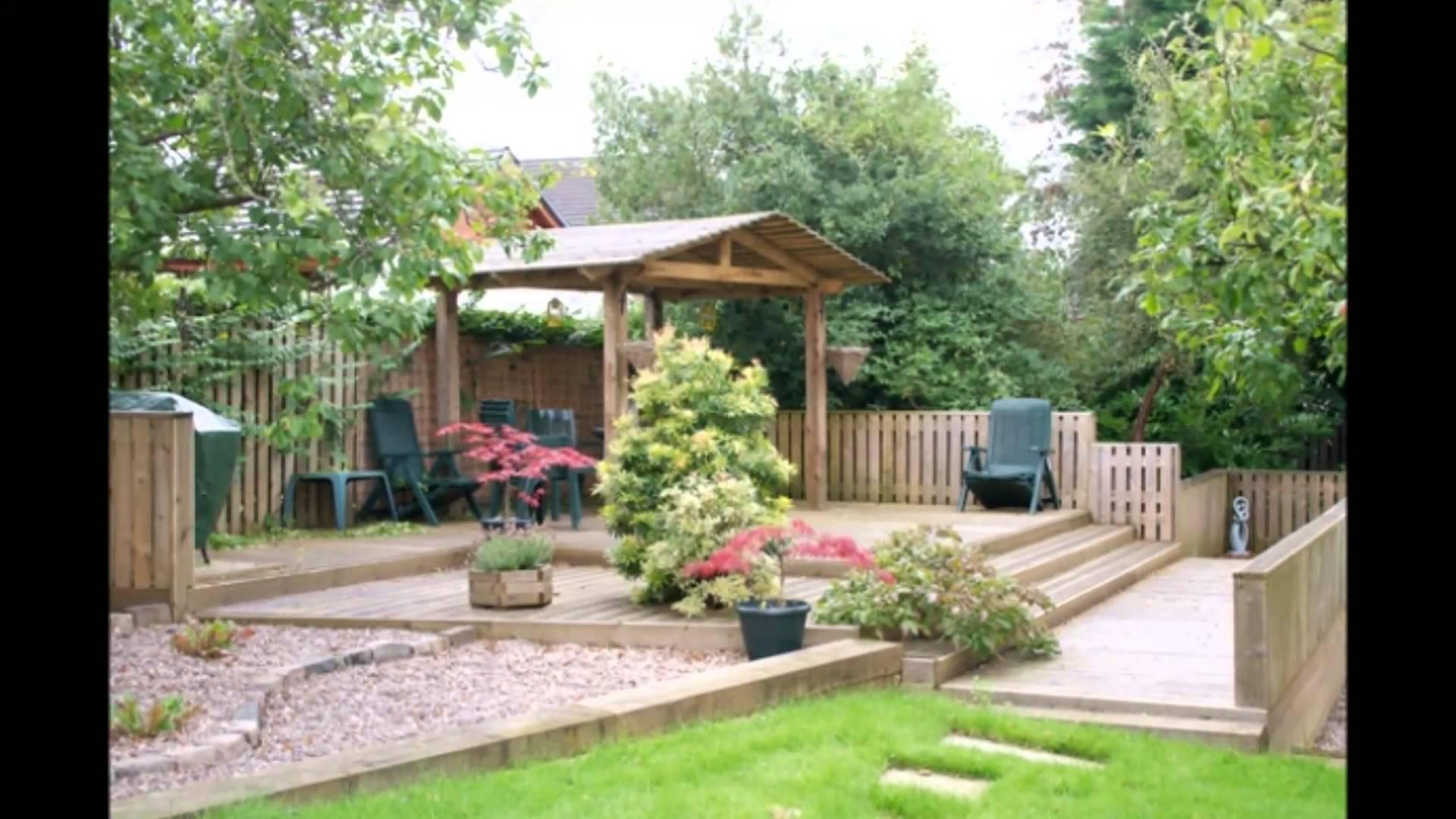 Ландшафтный дизайн двора загородного дома