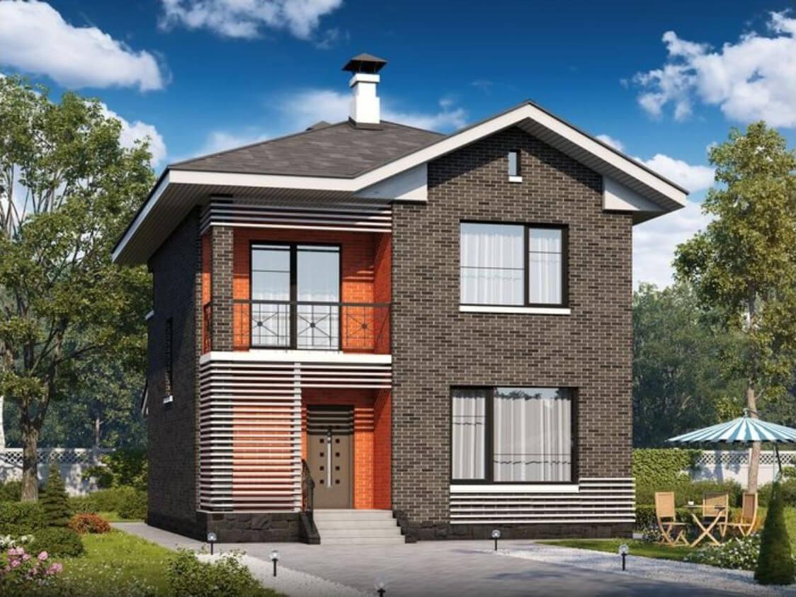 Кирпичные дома проекты бесплатно