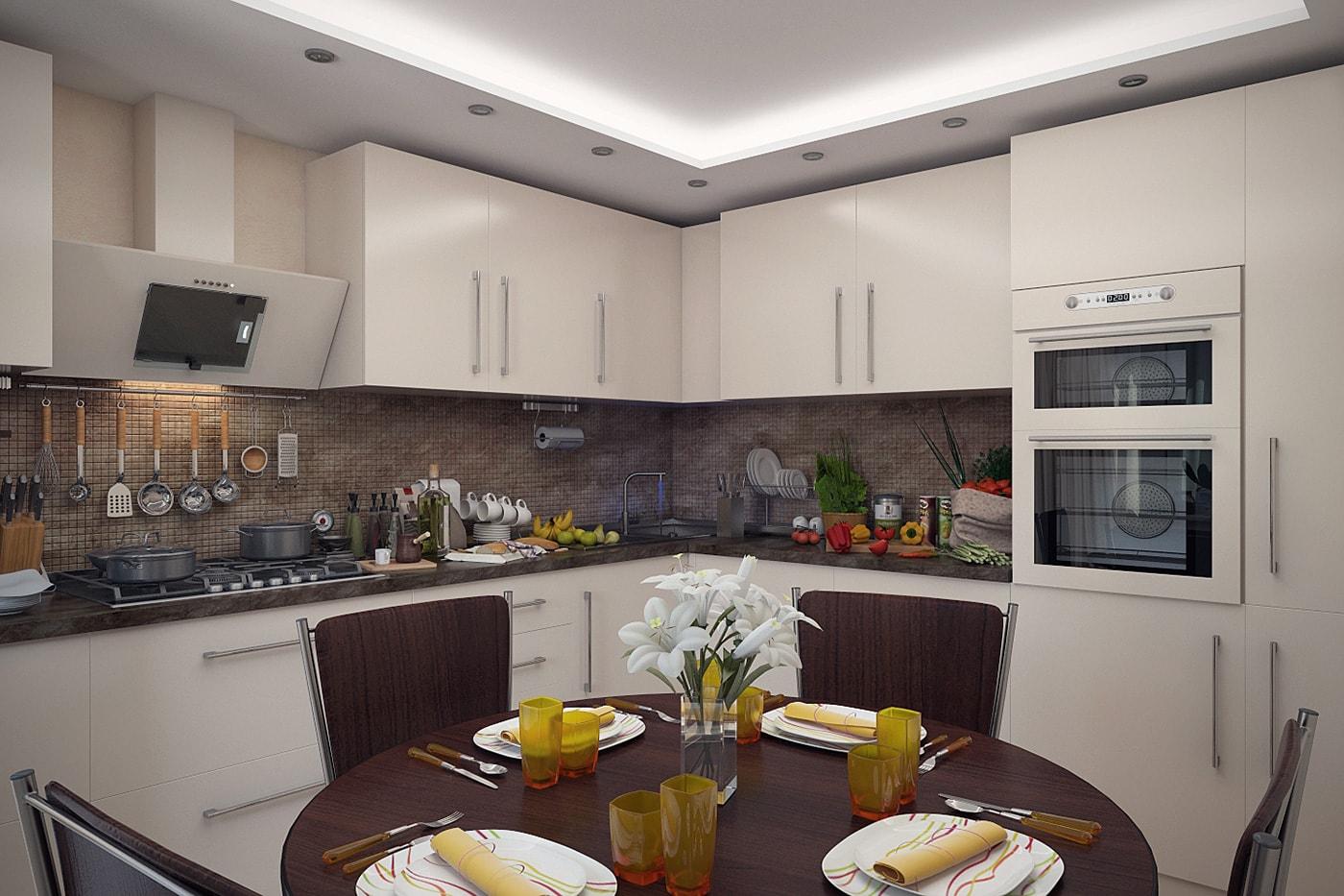 Интерьер кухни столовой фото 2015 современные идеи