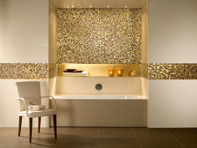 Ванная комната дизайн из мозаики