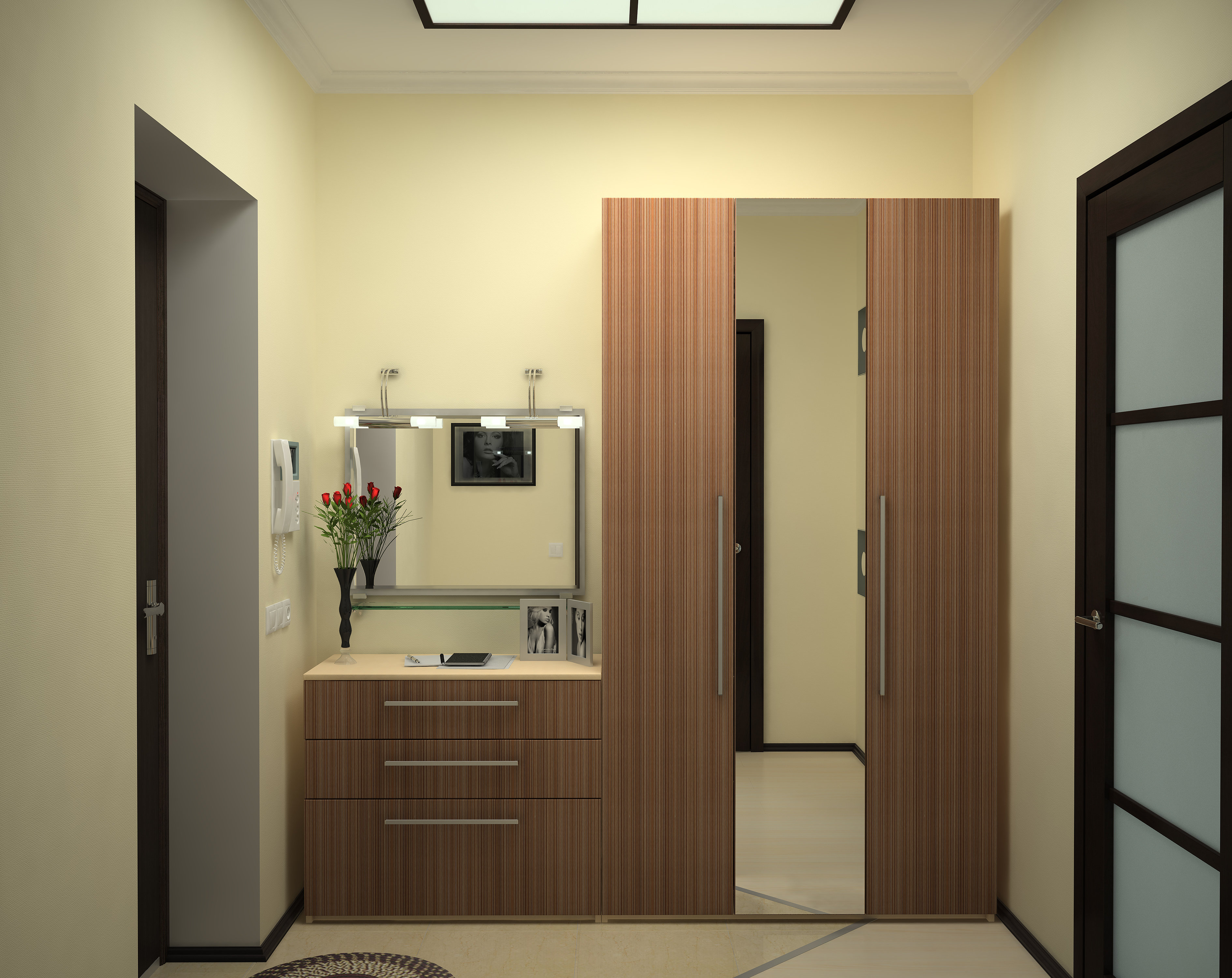 Дизайн коридора (прихожей) в хрущевке, фото - этотдом.