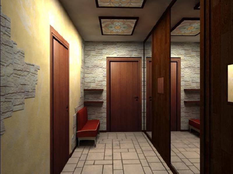 Ремонт в коридор узкий