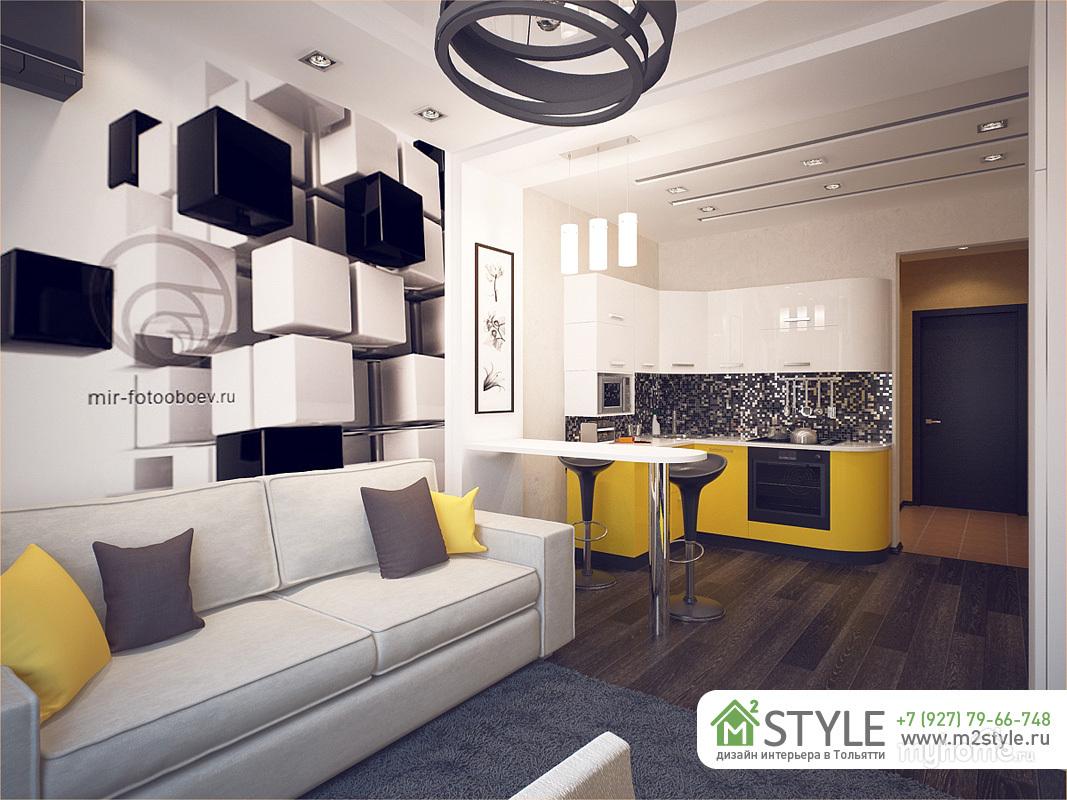 Дизайн студии 26 квадратов