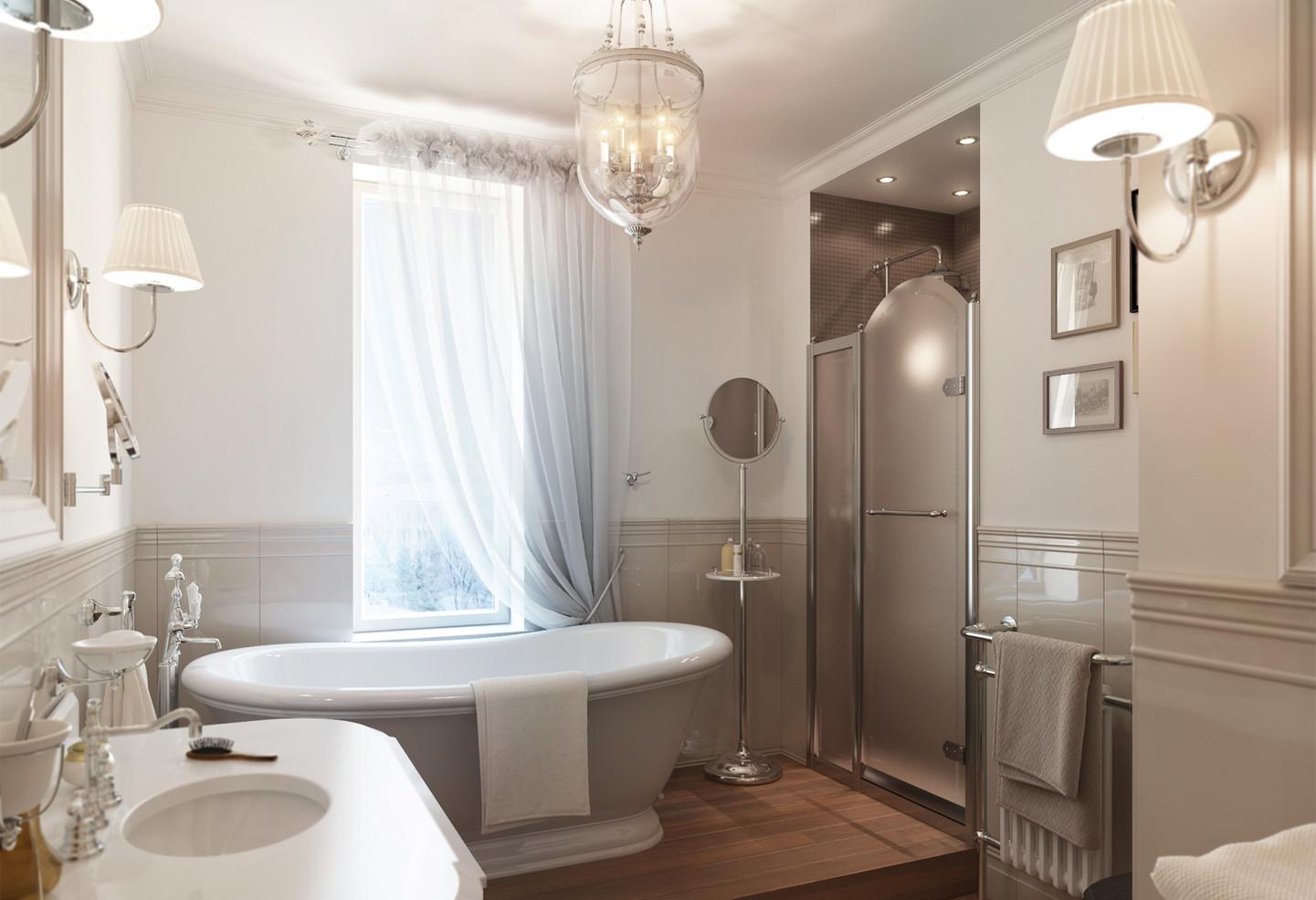 Дизайн ванной с окном фото 2015 современные идеи