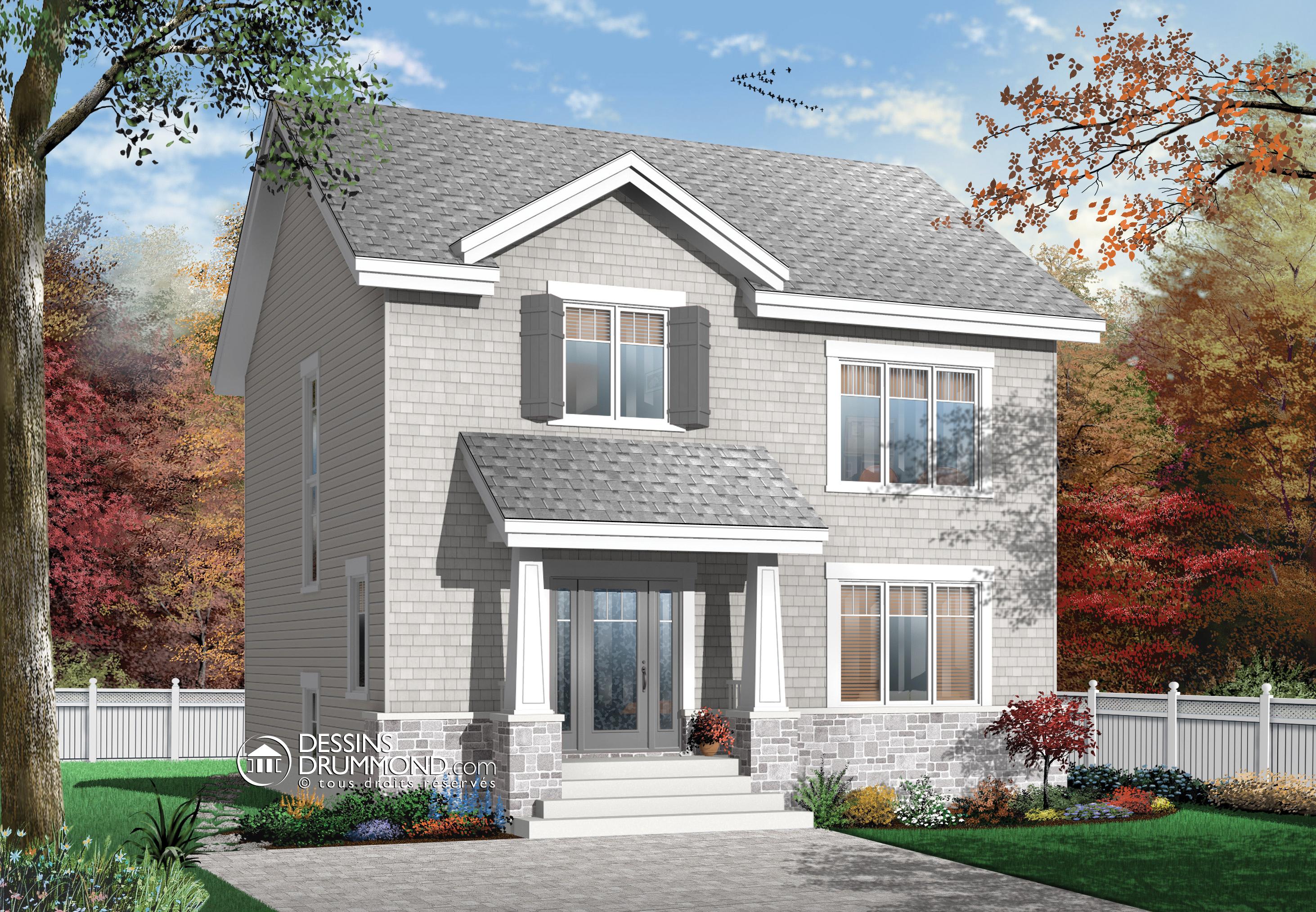 Дизайн частных домов с норужи