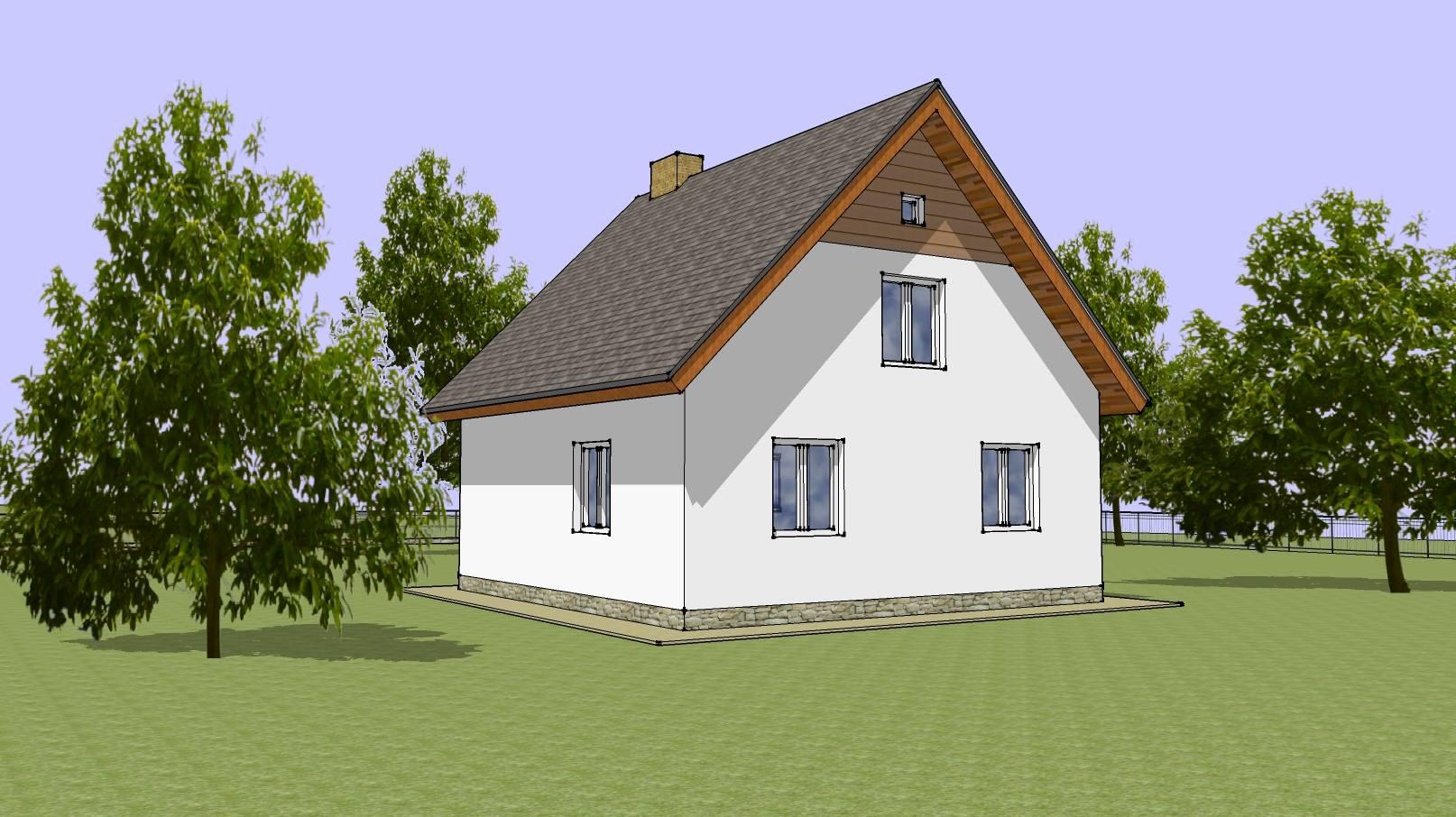 Проекты рубленных домов бесплатно
