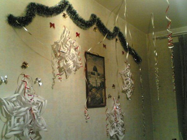 Как украсить квартиру на новый год своими руками фото пошагово