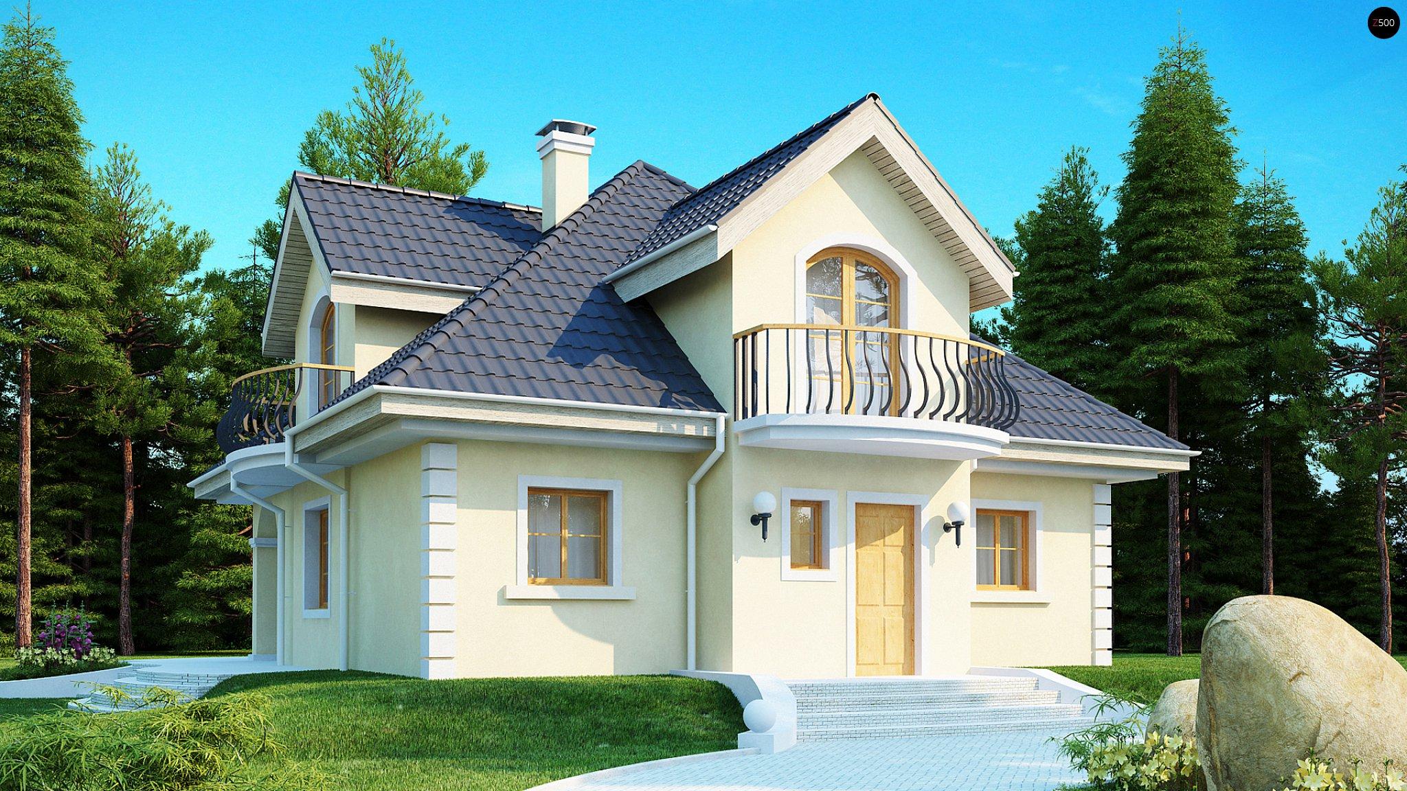 Проекты домов с мансардой - все о ремонте.
