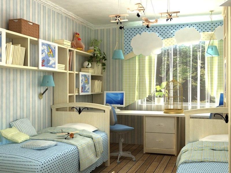 Как сделать комнату для разнополых подростков