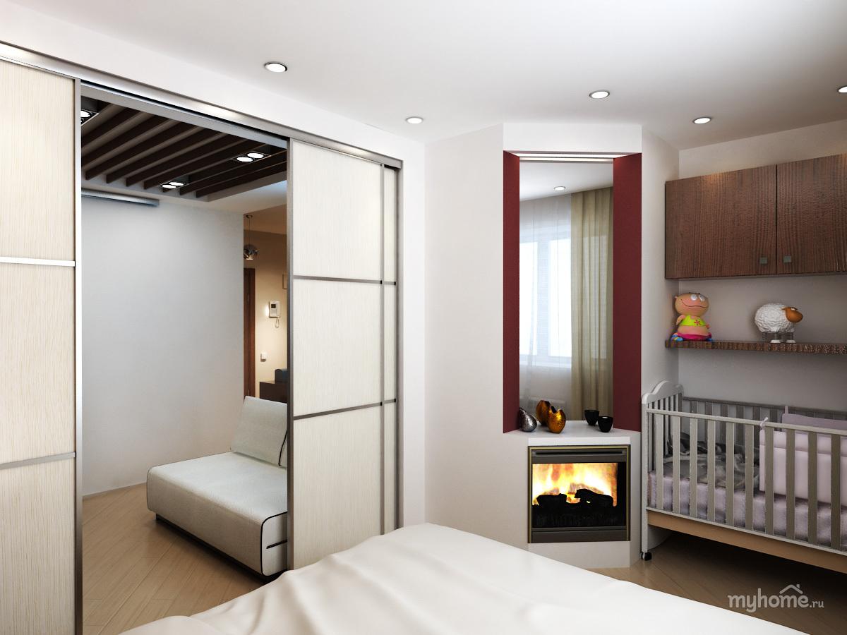 Ремонт в однокомнатной квартире 30 кв.м фото с ребенком