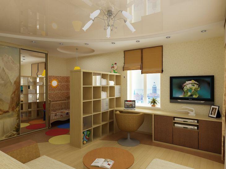 Филипповцы обустроить детскую водноккомнатной квартире меня при