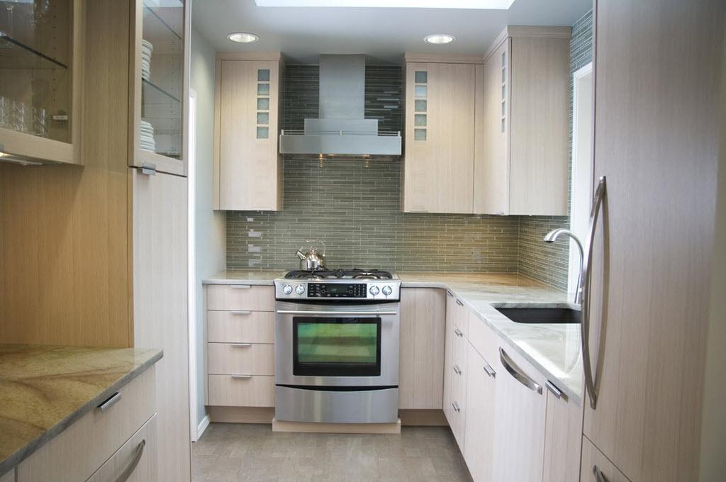 маленькая кухня ремонт фото