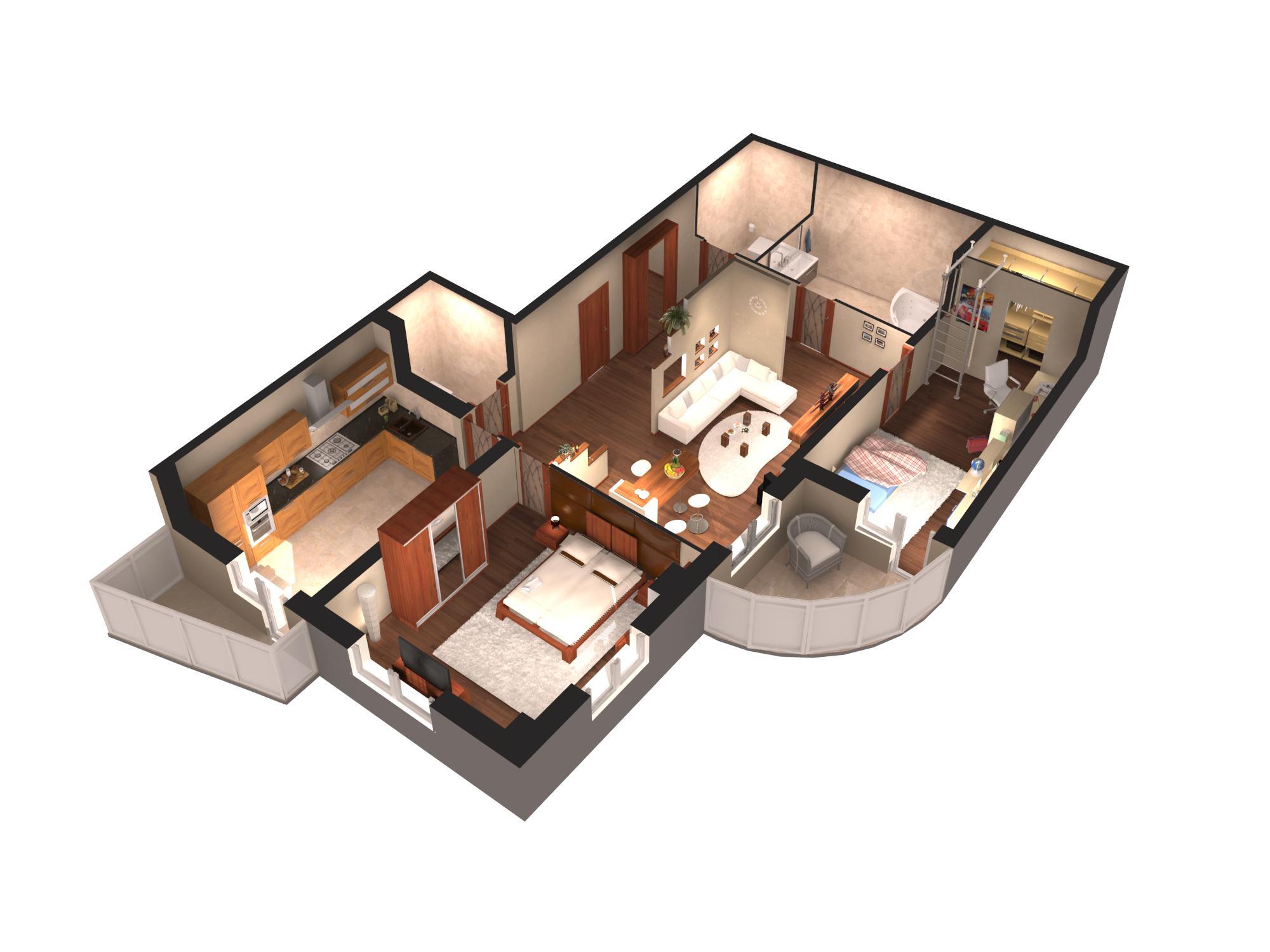 Как сделать удобную планировку квартиры 650