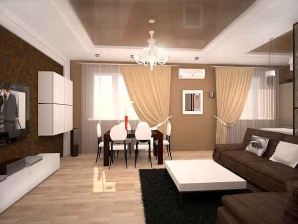 Дизайн потолка студии