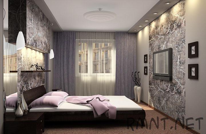 Спальня дизайн 121 серии