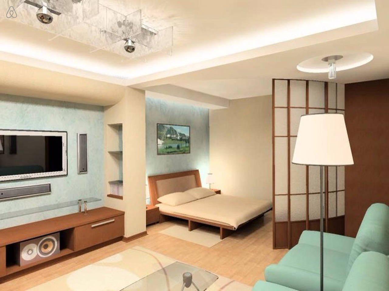 Дизайн однокомнотной квартиры 40м2