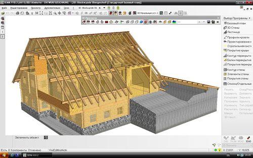 Sema Программа Для Проектирования Деревянных Домов