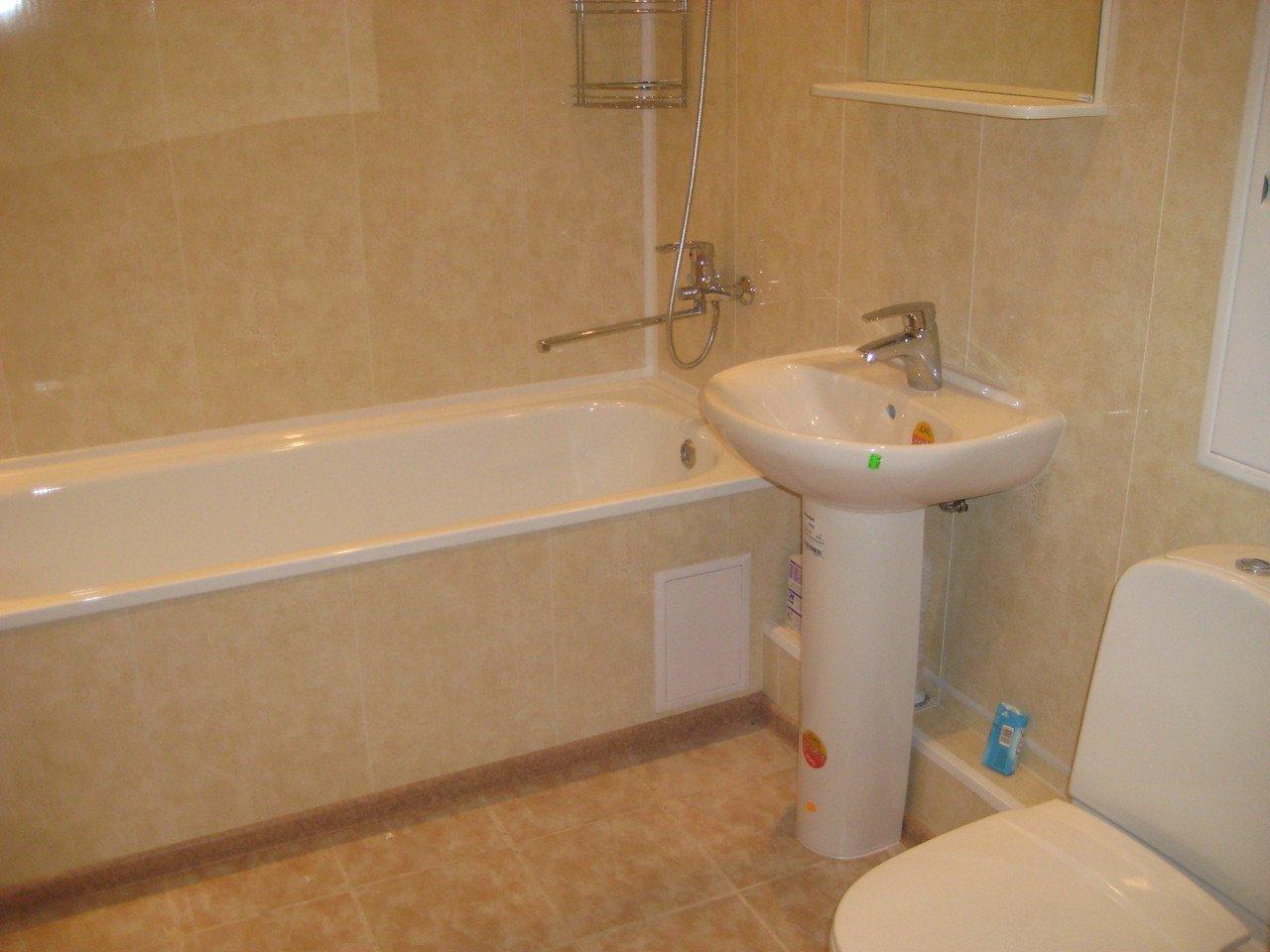 Как отделать ванну пластиковыми панелями