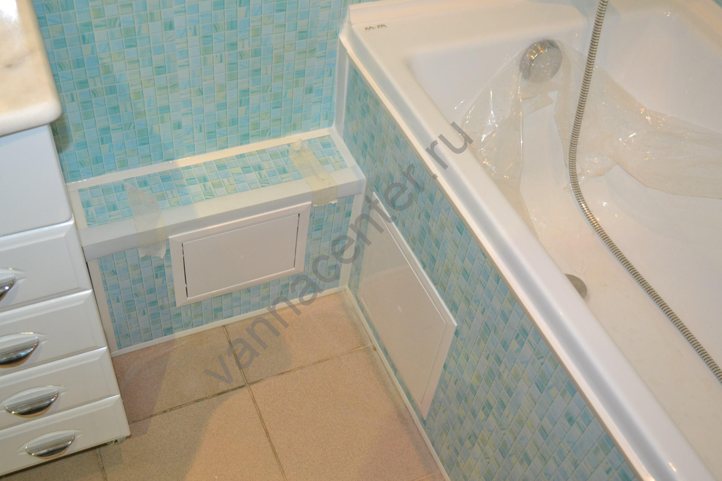Ванная комната пластиком своими руками фото