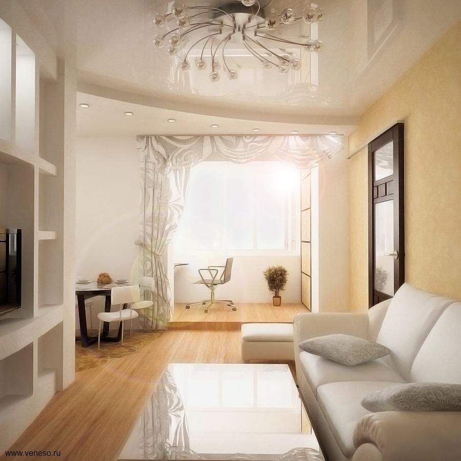 Дизайн интерьера в 2-комнатной хрущевке