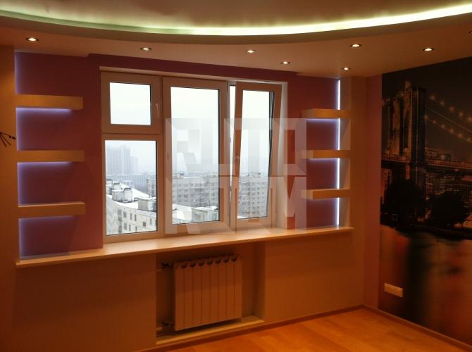 """Дизайн 3-х комнатной квартиры 137 серии """" современный дизайн."""