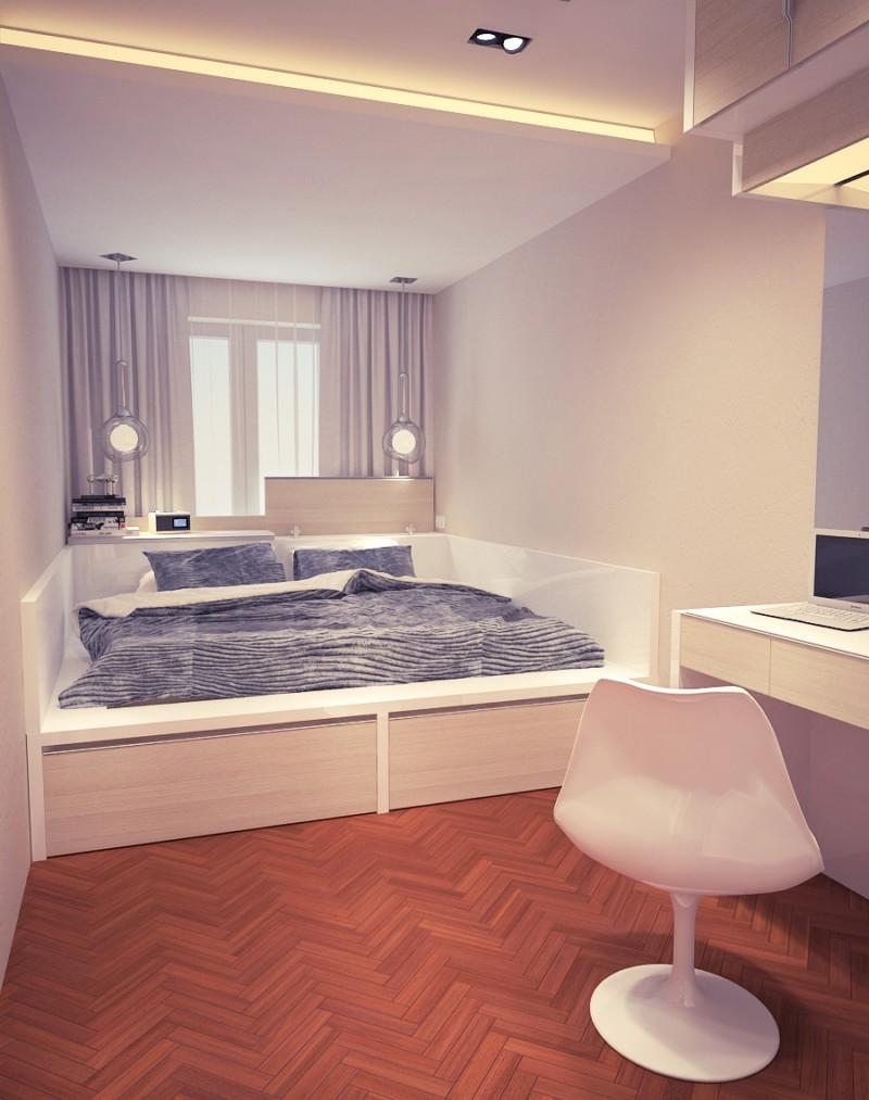 Спальня дизайн в хрущевка