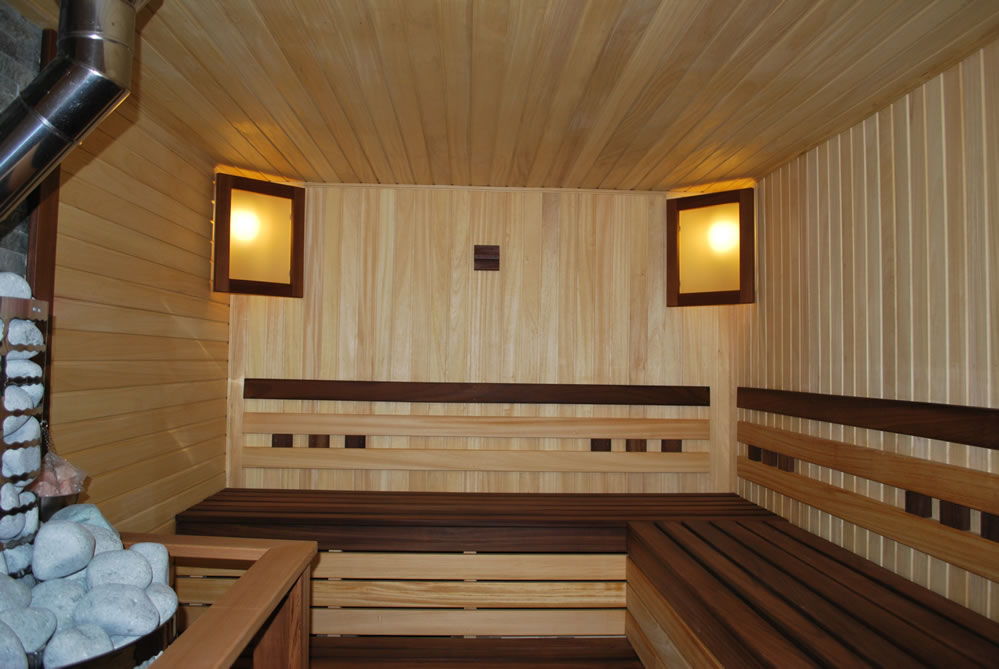 Отделка комнаты отдыха бани своими руками
