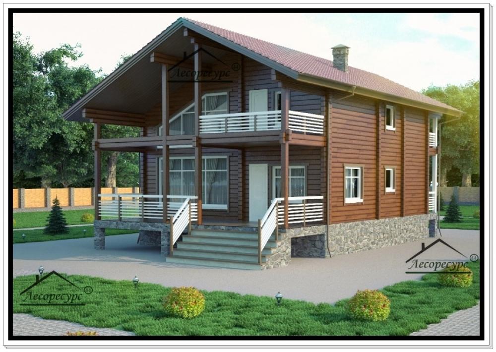 главной жилой дома из бруса на два входа голое тело или