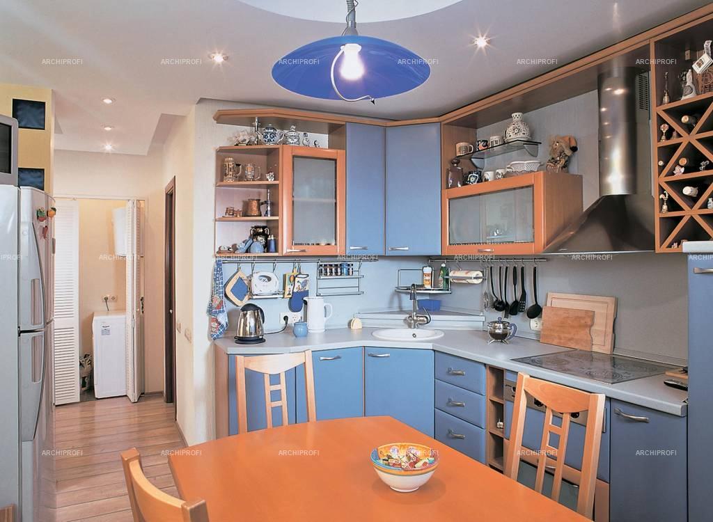 Дизайн кухни в панельном доме.