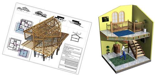 Программу проектирования домов из дерева