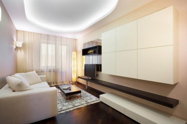Дизайн двухкомнатных квартир современный стиль